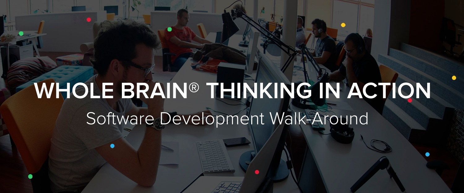 A Whole Brain® Thinking Approach to Software Development