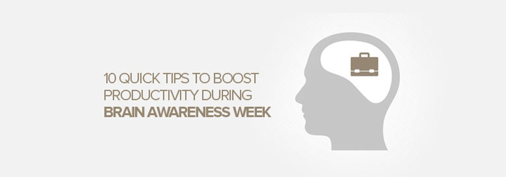 How to boost productivity during Brain Awareness Week