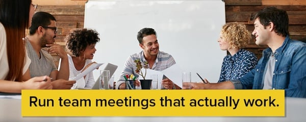Get your toolkit for running better meetings